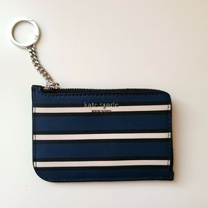 Kate Spade Leather Cameron York Striped Wallet